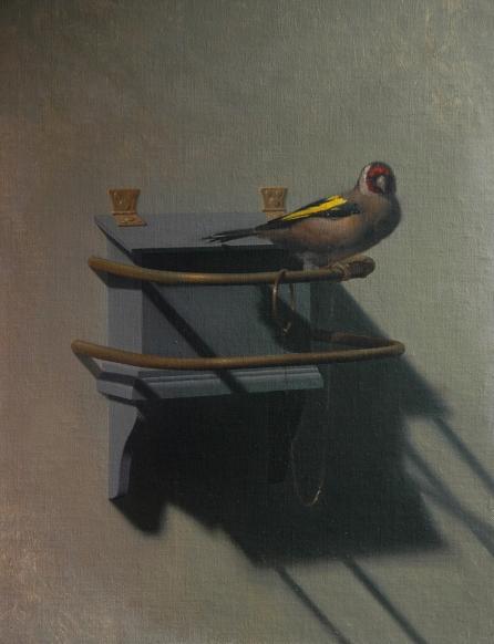 Rebecca C Gray, The Goldfinch, 2014.