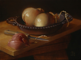 Rebecca C Gray, Onions and Shallot, 2009