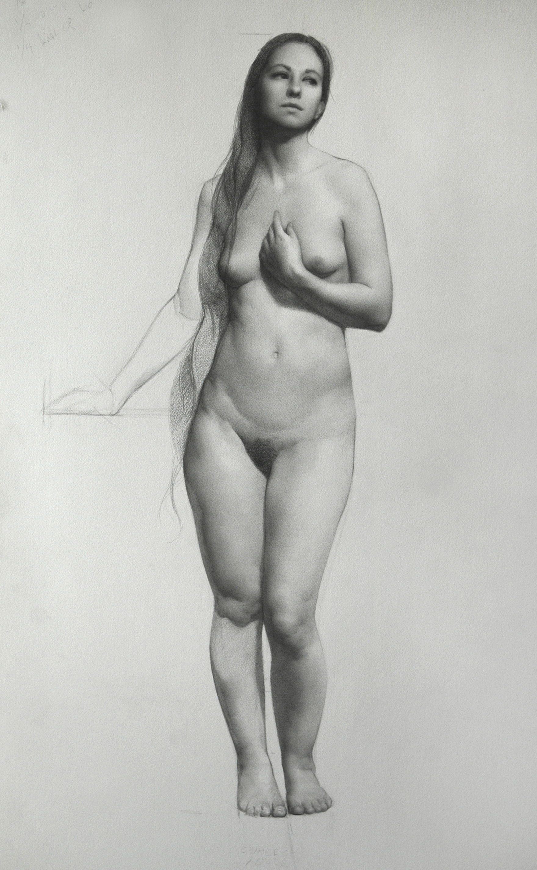 Life drawing artists and nude models tap into creativity