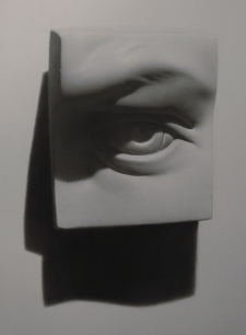 Rebecca C Gray, Eye Cast Drawing, 2011.